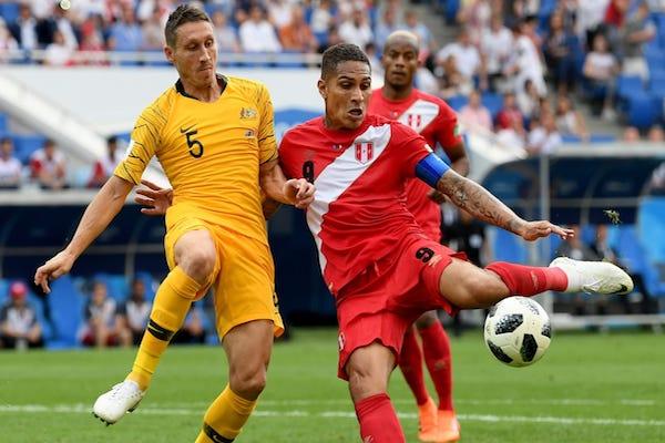 Grupa C: Australia - Peru 0-2. Ambele echipe pleacă acasă!