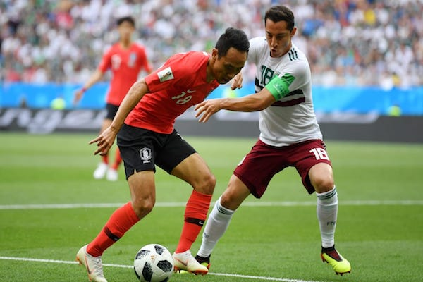 Grupa F: Coreea de Sud - Mexic 0-2. Sud americanii sunt aproape de o calificare în optimi!