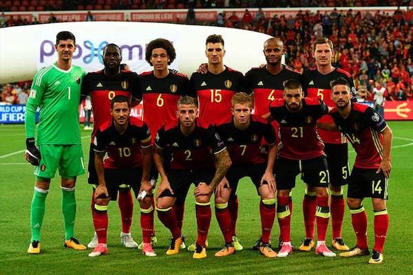 Grupa G - Belgia, Panama, Tunisia, Anglia – program, loturi de jucători