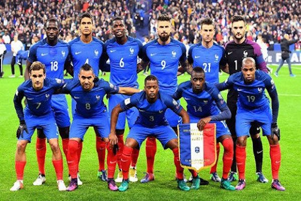 Grupa C – Franța, Australia, Peru, Danemarca – program, loturi de jucători