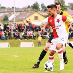 Alexandru Băluță a fost vândut la Slavia Praga cu 3 milioane de euro. A debutat cu banderolă de căpitan și a dat deja un gol