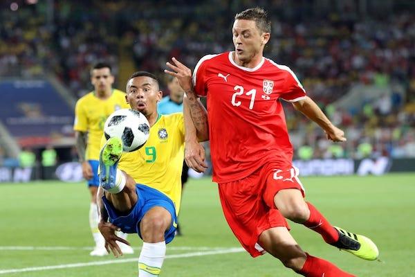 Grupa E: Serbia - Brazilia 0-2. Brazilia confirmă și merge mai departe!