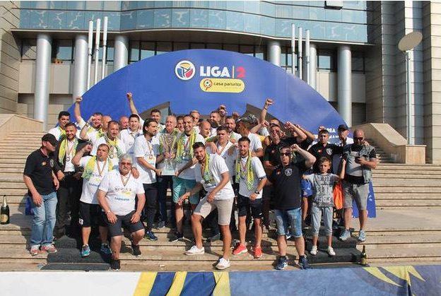 Liga 2: Dunărea Călărași a primit trofeul de Campioană a Ligii a doua