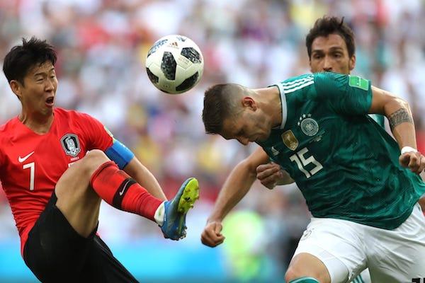 Grupa F: Coreea de Sud - Germania 2-0. Șoc la Mondiale, Germania este AUS!