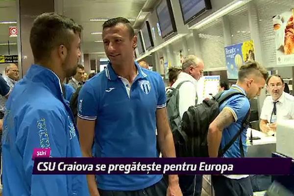 CS U Craiova se pregătesc pentru Supercupă în Austria. Screciu a fost transferat la Genk!