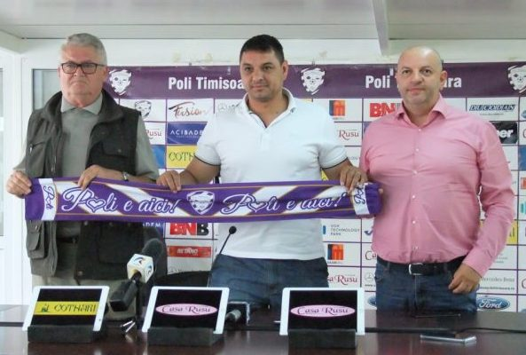 ACS Poli Timișoara s-a reunit sub comanda noului antrenor, Ionel Ganea