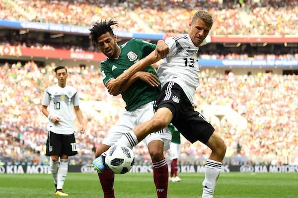 Grupa F: Germania – Mexic 0-1. Campioana Mondială en-titre a fost răpusă de Mexic!