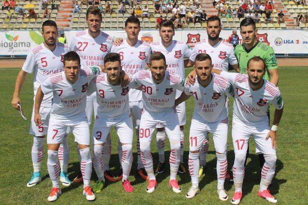 Liga 2: Hermannstadt a promovat în Liga întâi de pe locul doi