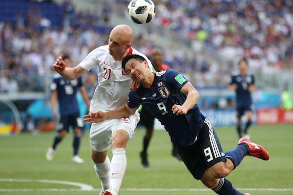 Grupa H: Japonia –  Polonia 0-1. Japonia se califică în optimi după criteriul ˝fair play˝