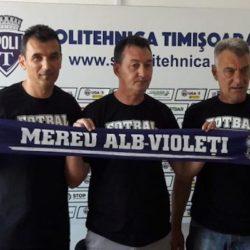Cosmin Petruescu este noul antrenor al echipei ASU Poli Timișoara