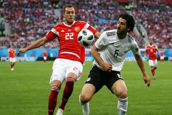 Grupa A: Rusia - Egipt 3-1. Rusia este prima calificată în sferturile de finală!