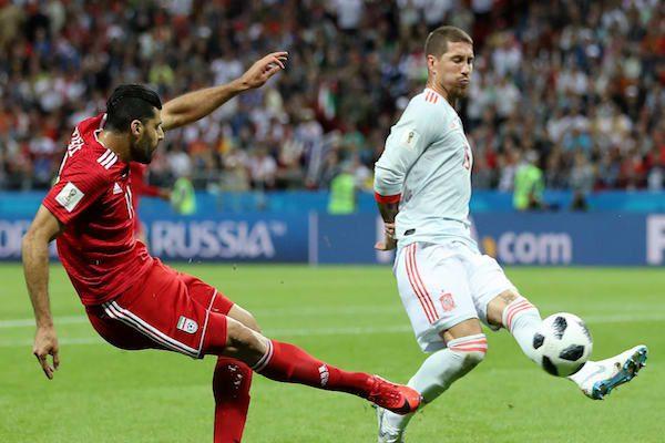 Grupa B: Iran - Spania 0-1. Victorie norocoasă a ibericilor!