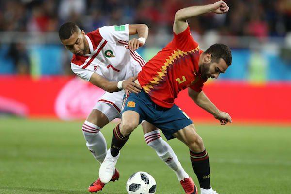 Grupa B: Spania - Maroc 2-2. Spania reușește să egaleze în prelungiri și merge în optimi