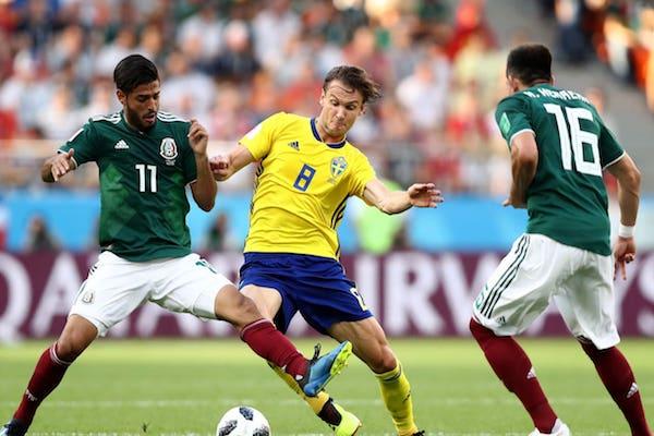 Grupa F: Mexic - Suedia 0-2. Ambele merg mai departe după eșecul Germaniei!