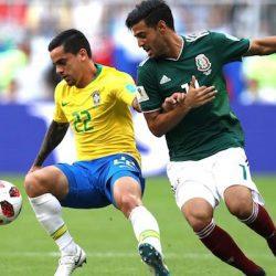 Optimi de finală: Brazilia - Mexic 2-0. Neymar a fost decisiv!