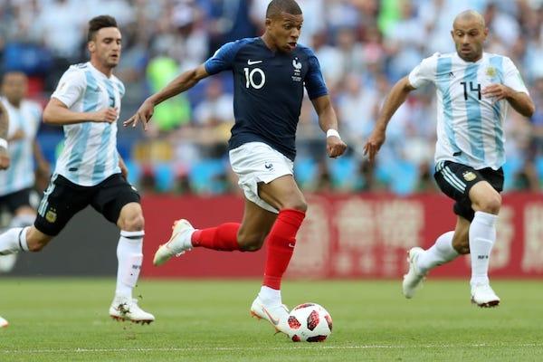 Optimi de finală: Franţa - Argentina 4-3 după cel mai frumos meci de până acum!
