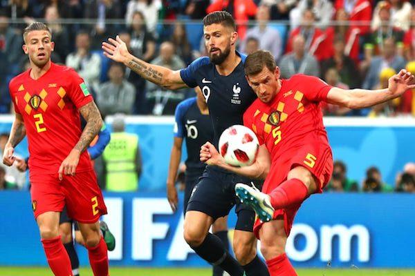 Semifinale: Franța - Belgia 1-0. Urmașii lui Napoleon se vor lupta la Moscova!