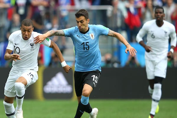 Sferturi de finală: Uruguay - Franța 0-2. Fără probleme pentru Griezmann și Mbappe!