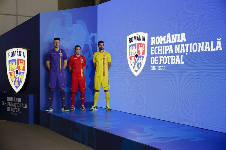 FRF a lansat prima identitate de brand din istoria Echipei Naționale de fotbal a României