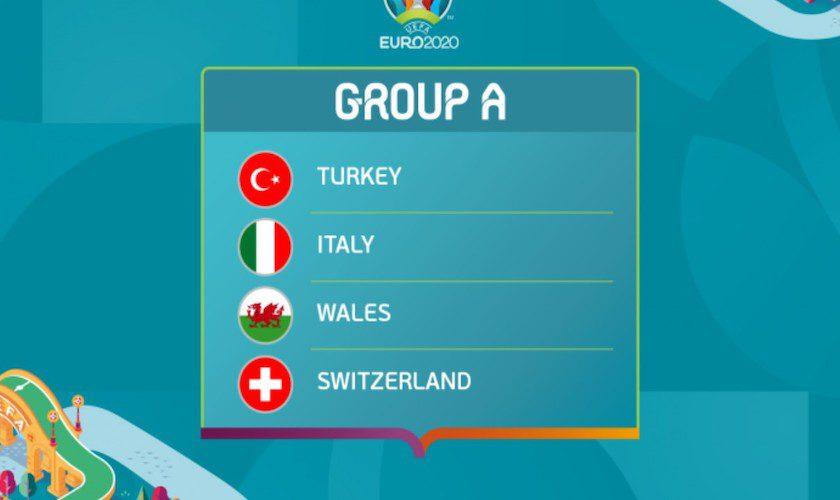 Grupa A: programul partidelor și stadioanele. Italia este marea favorită!