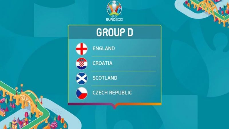 Grupa D: programul partidelor și stadioanele. Anglia și Croația pot câștiga Euro 2020!