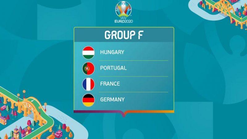 Grupa F: programul partidelor și stadioanele. Greu de ales dintre Portugalia, Franța și Germania!
