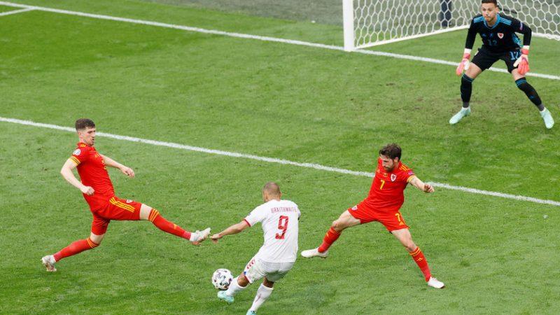 Optimi de finală: Țara Galilor – Danemarca 0-4, danezii merg în sferturi