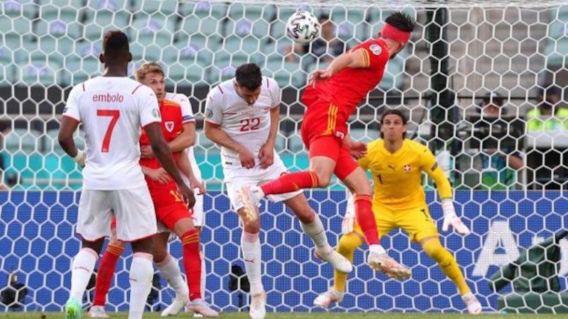 Grupa A: Țara Galilor – Elveția 1-1, cu gol anulat de VAR