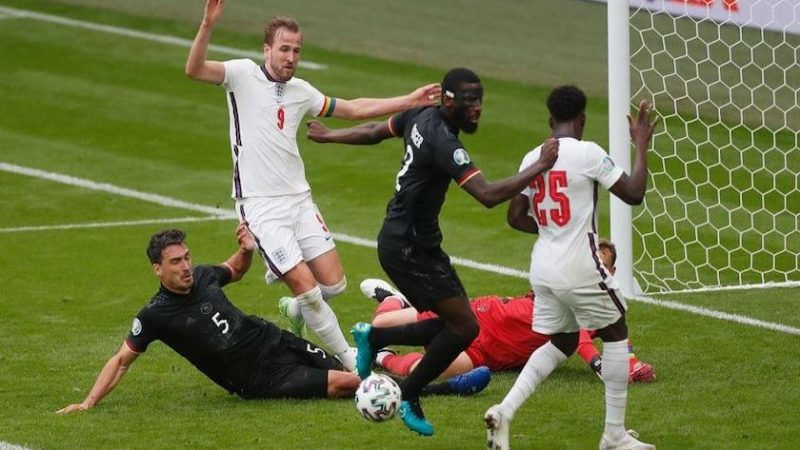 Optimi de finală: Anglia – Germania 2-0, în cel mai tare meci din această fază a EURO 2020