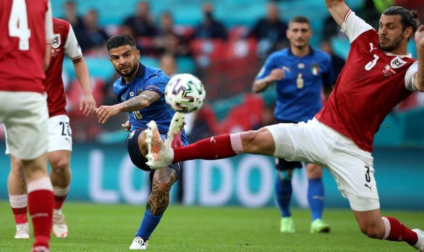 Optimi de finală: Italia – Austria 2-1 (0-0), azurii s-au calificat în prelungiri