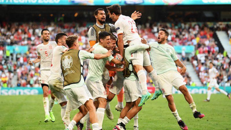Optimi de finală: Croația – Spania 3-5, iberici merg în sferturi după cel mai bun emci de la EURO 2020